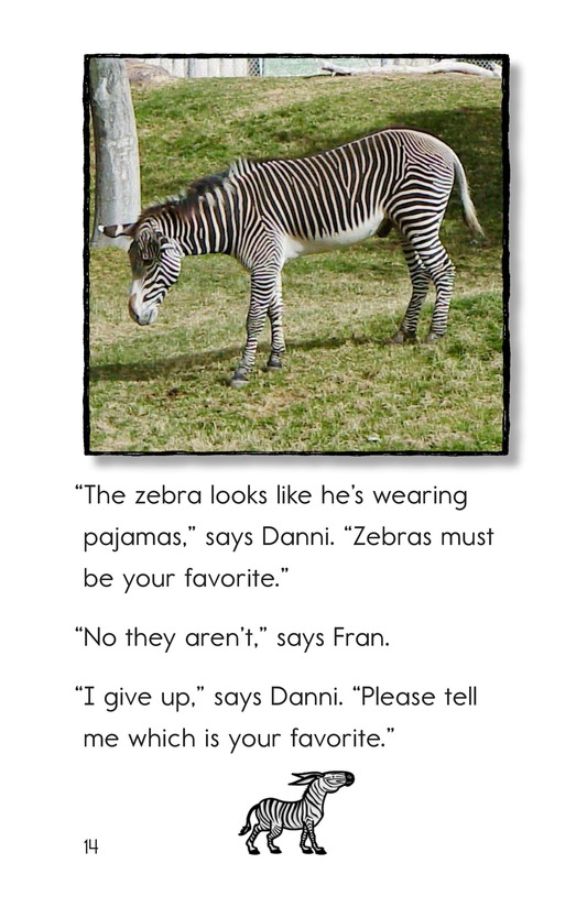 Book Preview For A Visit to the Zoo Page 14