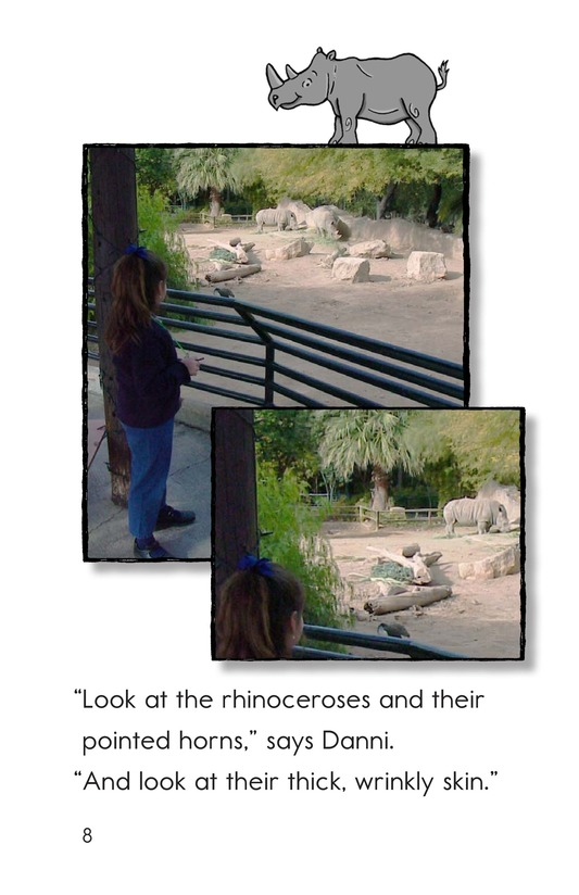 Book Preview For A Visit to the Zoo Page 8