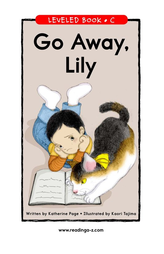 Book Preview For Go Away, Lily Page 1