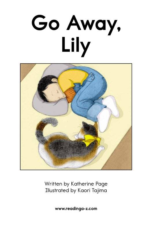 Book Preview For Go Away, Lily Page 2