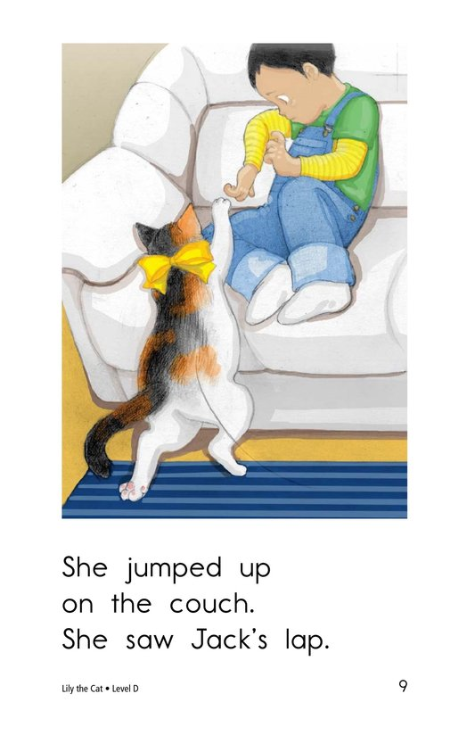 Book Preview For Lily the Cat Page 9