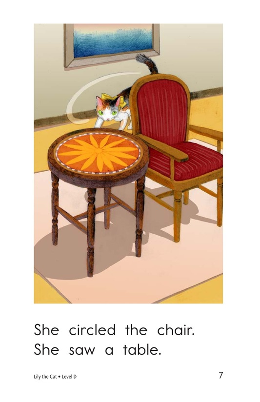 Book Preview For Lily the Cat Page 7