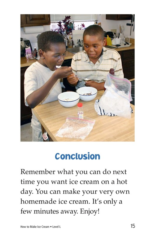 Book Preview For How to Make Ice Cream Page 15