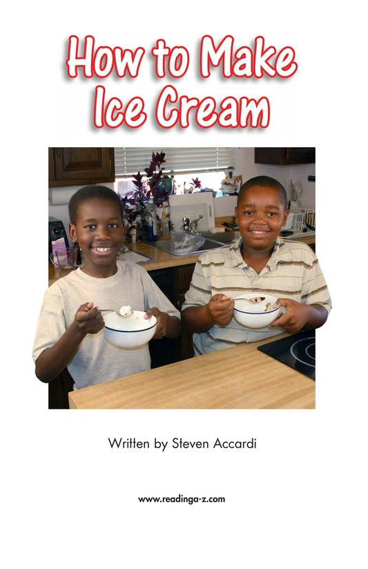 Book Preview For How to Make Ice Cream Page 2