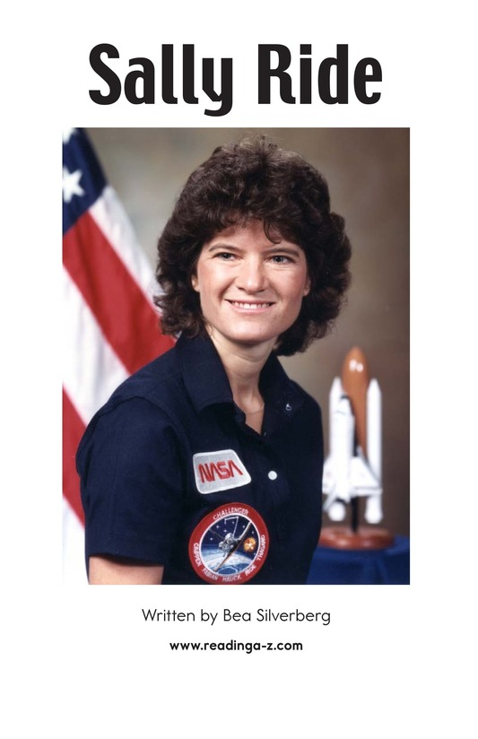 Book Preview For Sally Ride Page 2