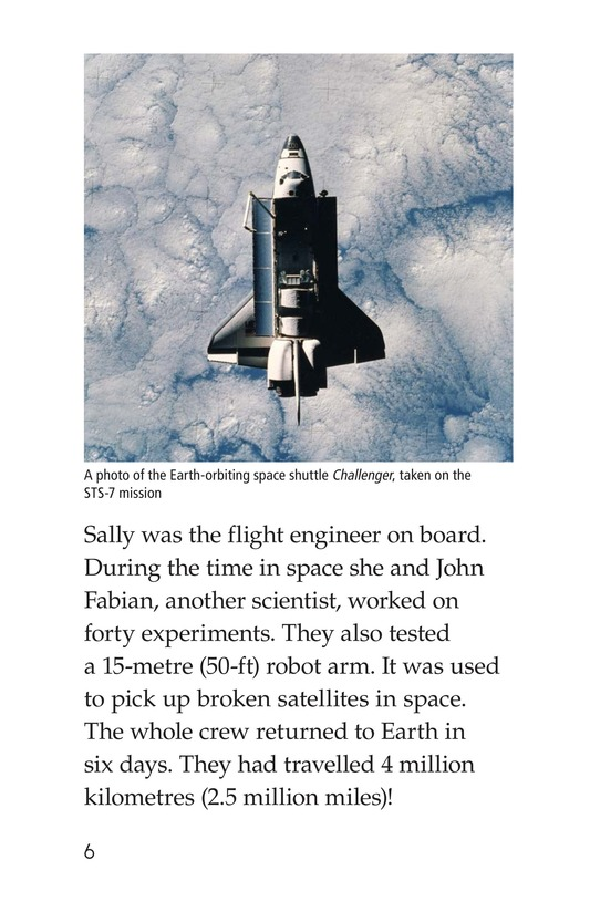 Book Preview For Sally Ride Page 6