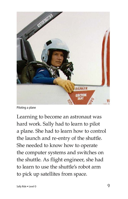 Book Preview For Sally Ride Page 9