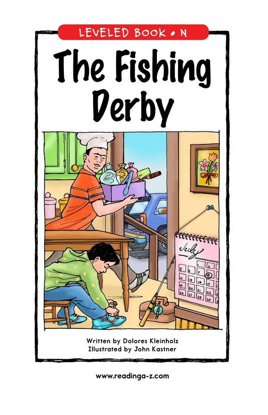 Book Preview For The Fishing Derby Page 1