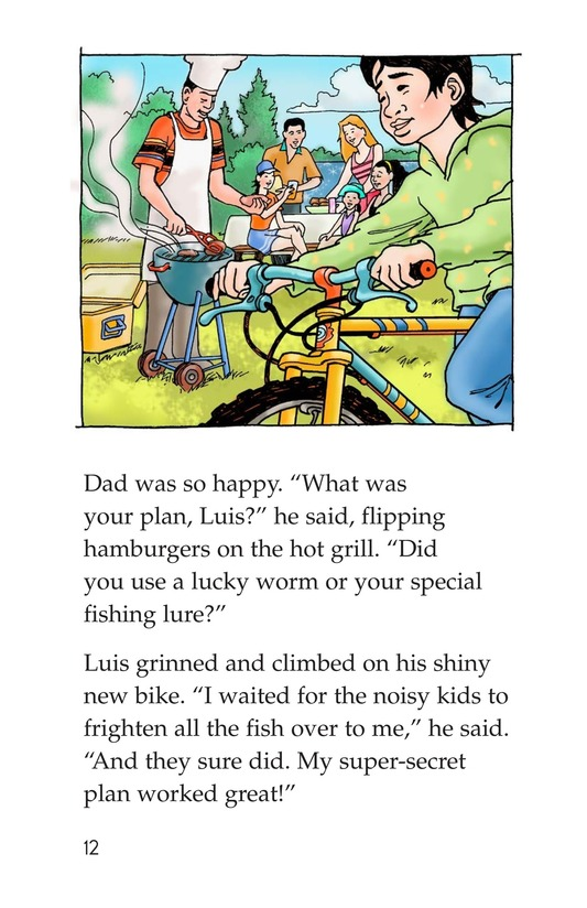 Book Preview For The Fishing Derby Page 12
