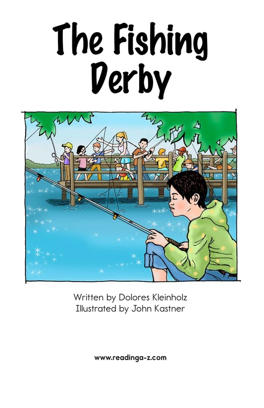 Book Preview For The Fishing Derby Page 2