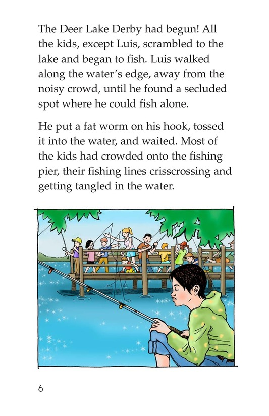 Book Preview For The Fishing Derby Page 6
