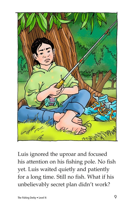 Book Preview For The Fishing Derby Page 9