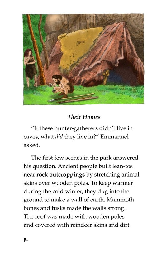 Book Preview For A Trip to a Prehistoric Cave Page 14