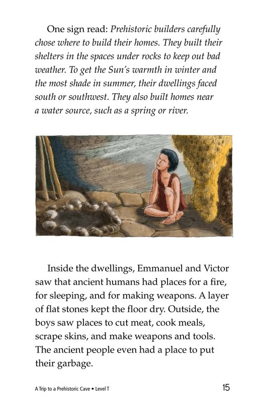 Book Preview For A Trip to a Prehistoric Cave Page 15