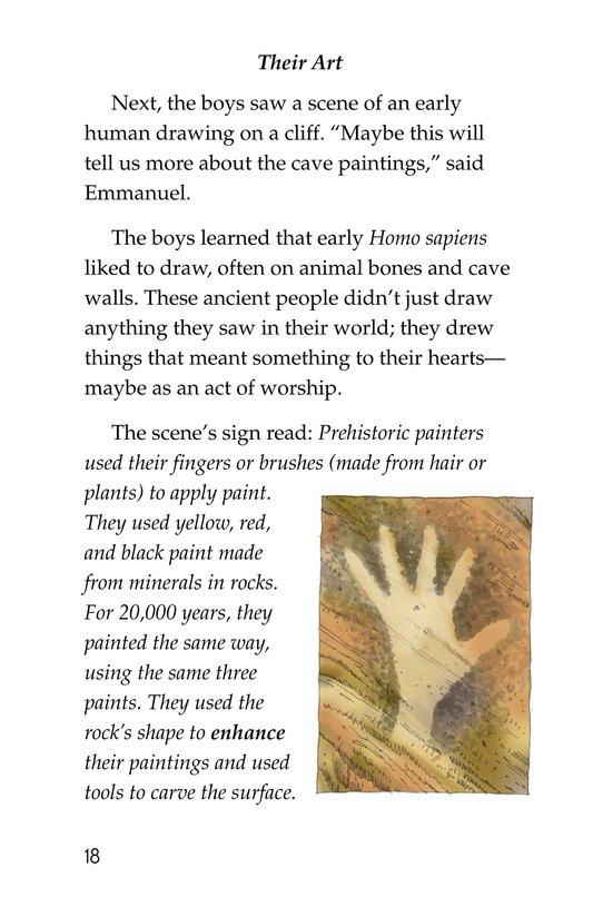 Book Preview For A Trip to a Prehistoric Cave Page 18