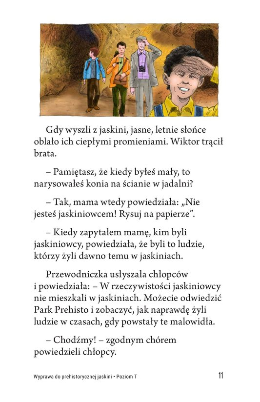 Book Preview For A Trip to a Prehistoric Cave Page 11