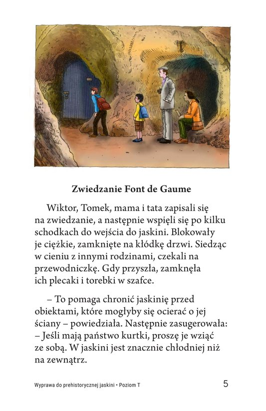 Book Preview For A Trip to a Prehistoric Cave Page 5