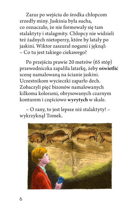 Book Preview For A Trip to a Prehistoric Cave Page 6