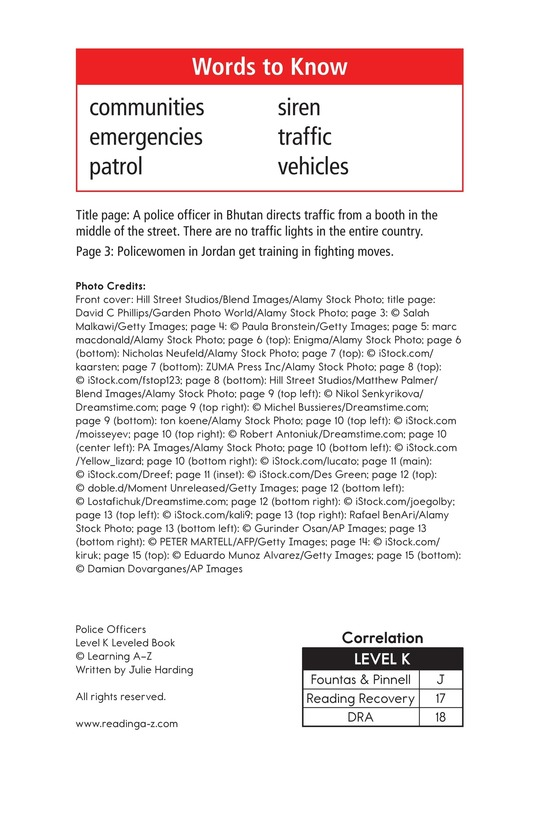 Book Preview For Police Officers Page 2