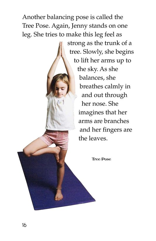 Book Preview For Jenny Loves Yoga Page 16