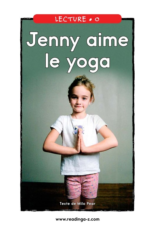 Book Preview For Jenny Loves Yoga Page 1