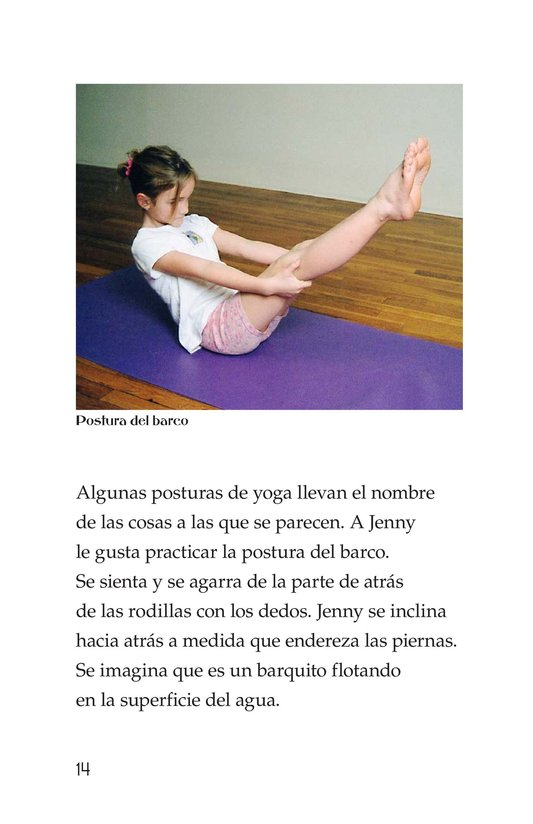 Book Preview For Jenny Loves Yoga Page 14