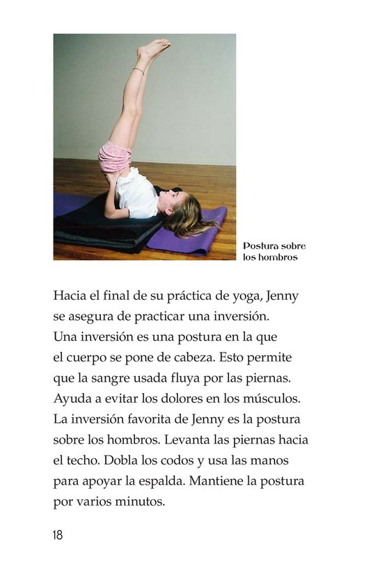 Book Preview For Jenny Loves Yoga Page 18
