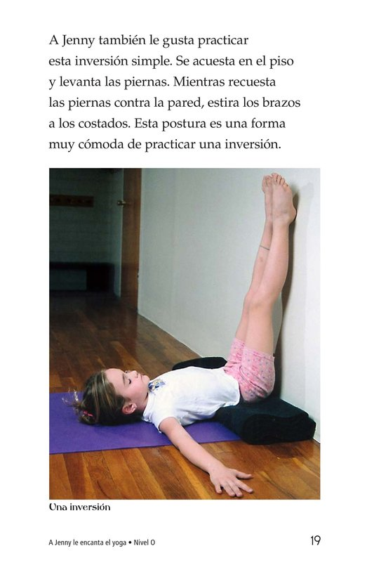 Book Preview For Jenny Loves Yoga Page 19