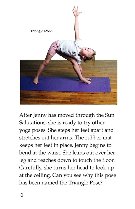 Book Preview For Jenny Loves Yoga Page 10