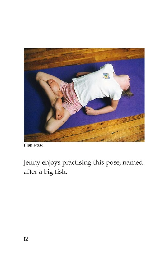 Book Preview For Jenny Loves Yoga Page 12