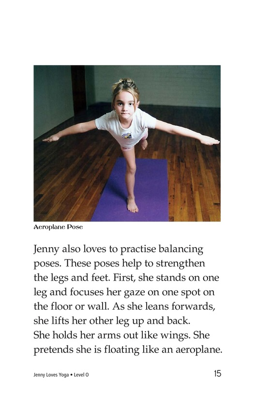 Book Preview For Jenny Loves Yoga Page 15