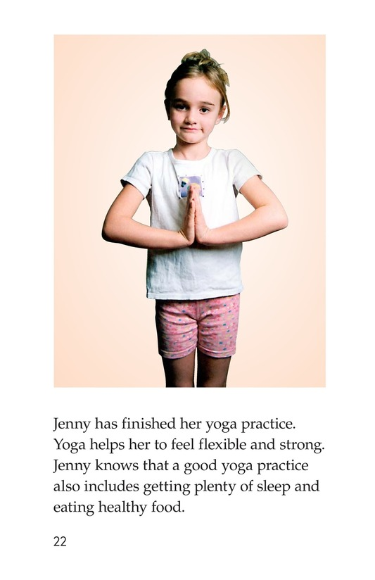 Book Preview For Jenny Loves Yoga Page 22