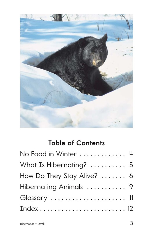 Book Preview For Hibernation Page 3