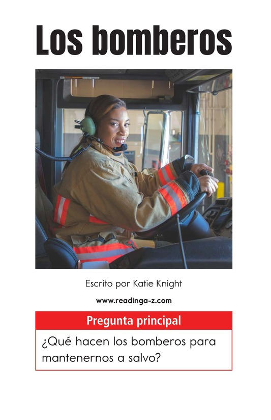 Book Preview For Firefighters Page 1
