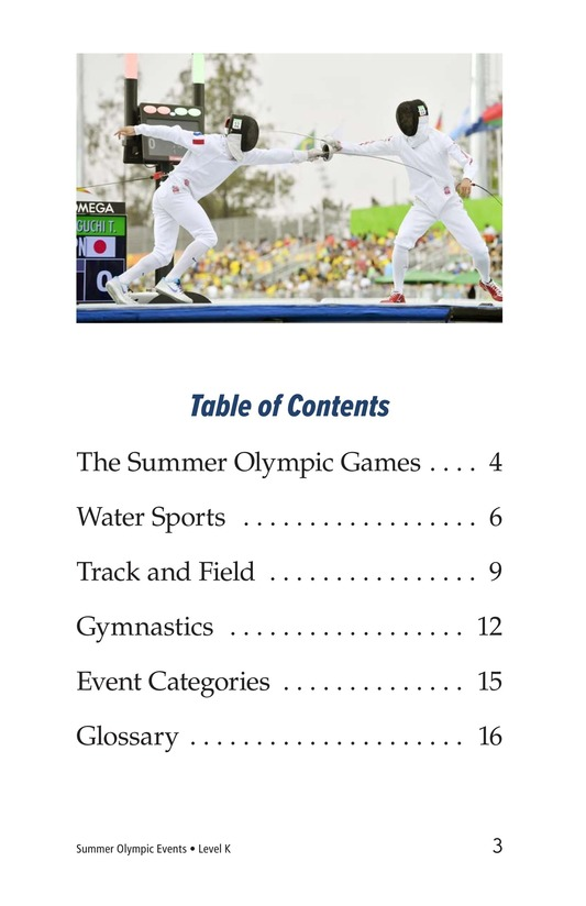 Book Preview For Summer Olympics Events Page 3