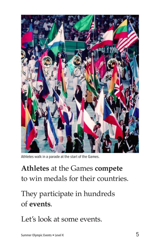 Book Preview For Summer Olympics Events Page 5