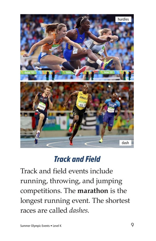 Book Preview For Summer Olympics Events Page 9