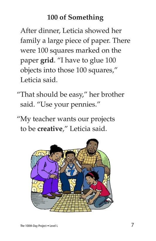 Book Preview For The 100th Day Project Page 7