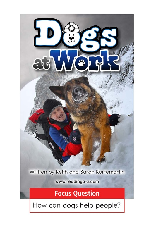 Book Preview For Dogs at Work Page 1