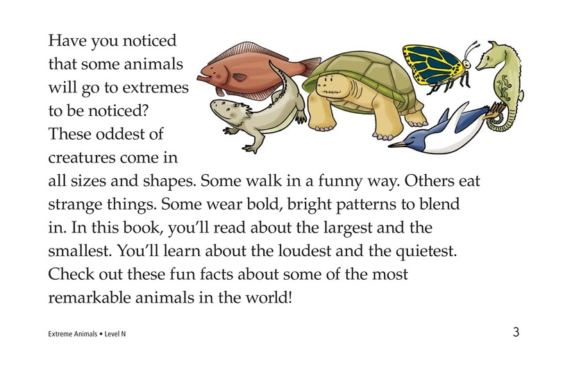 Book Preview For Extreme Animals Page 3