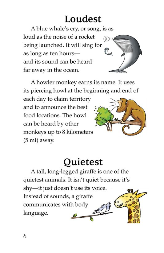 Book Preview For Extreme Animals Page 6