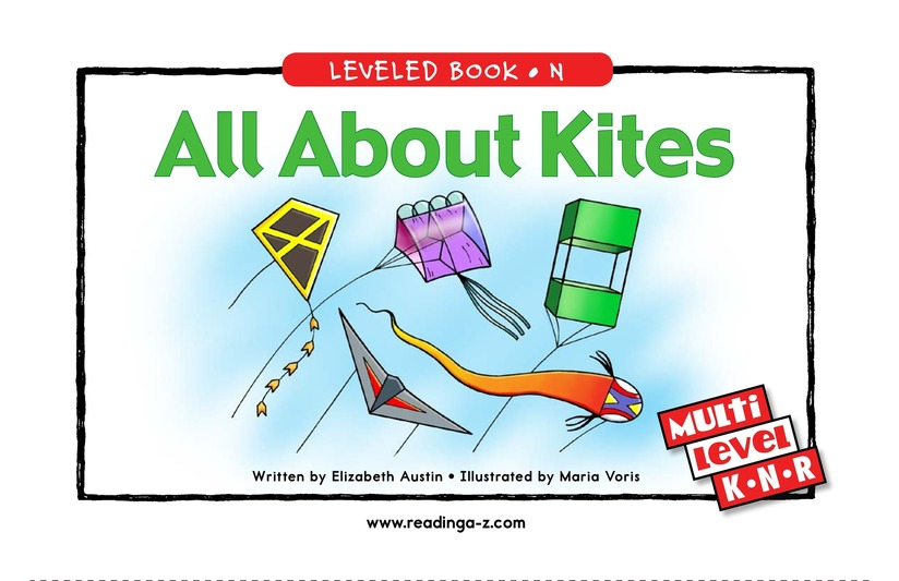 Book Preview For All About Kites Page 1