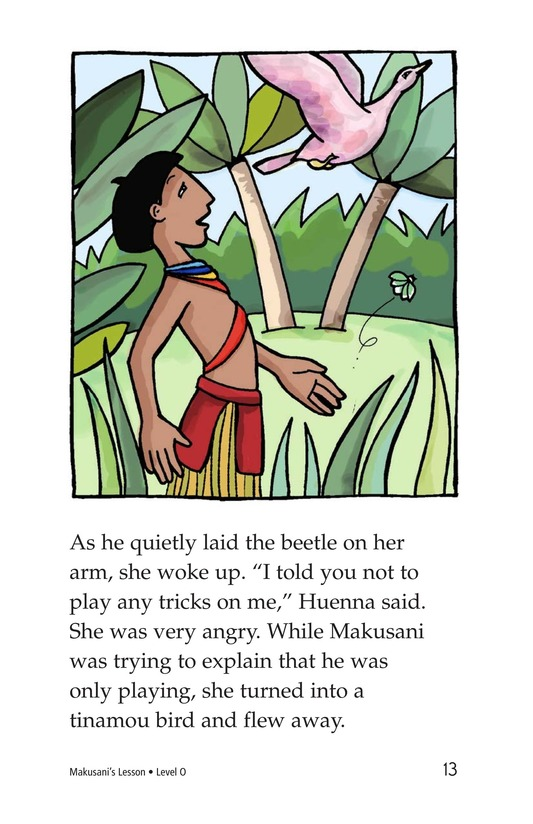 Book Preview For Makusani's Lesson Page 13