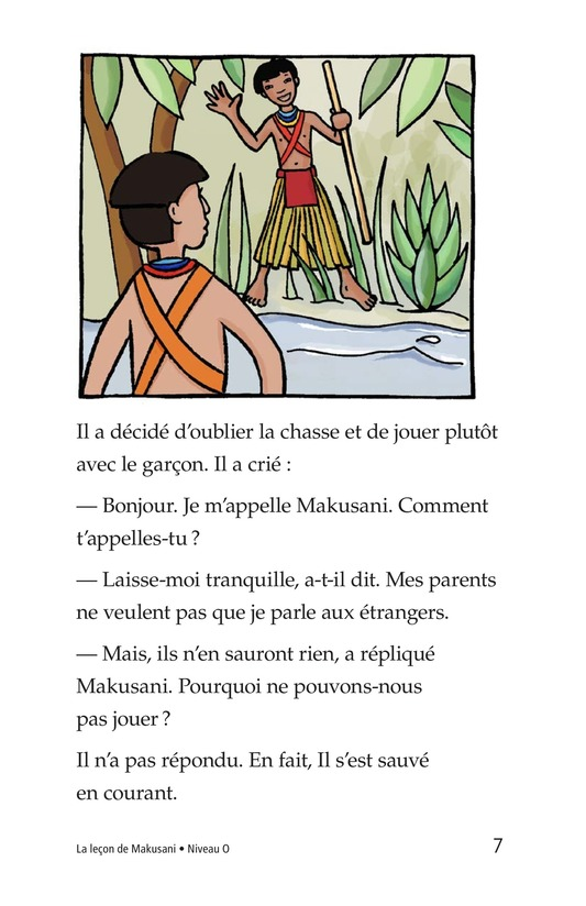 Book Preview For Makusani's Lesson Page 7