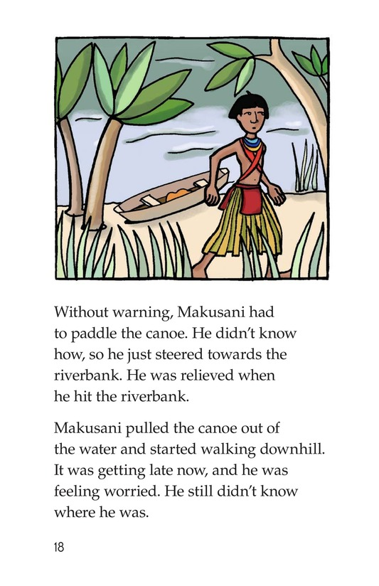Book Preview For Makusani's Lesson Page 18