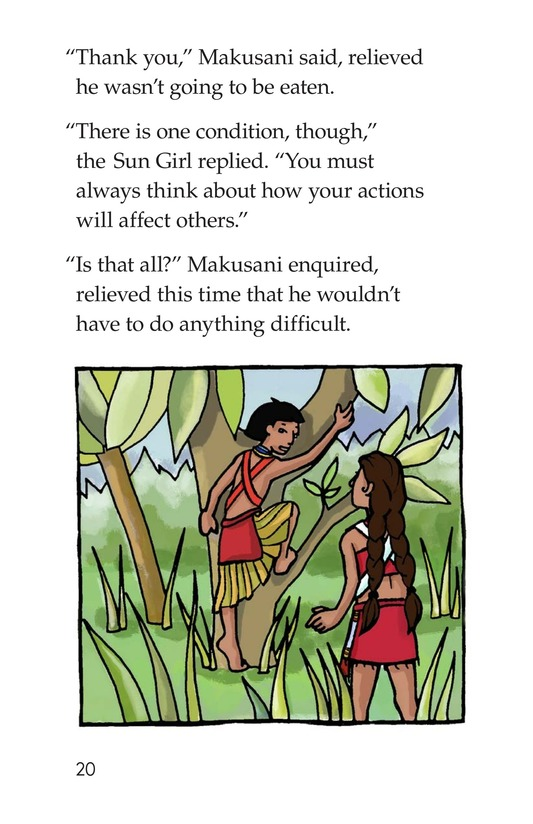 Book Preview For Makusani's Lesson Page 20