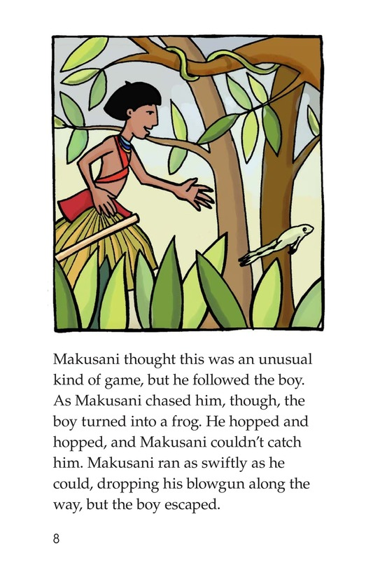 Book Preview For Makusani's Lesson Page 8