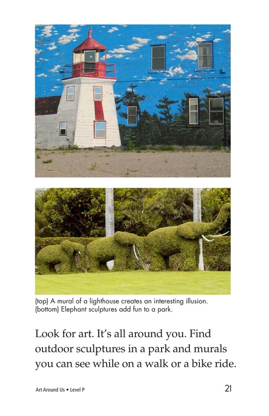 Book Preview For Art Around Us Page 21
