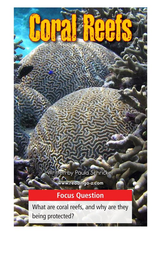 Book Preview For Coral Reefs Page 1