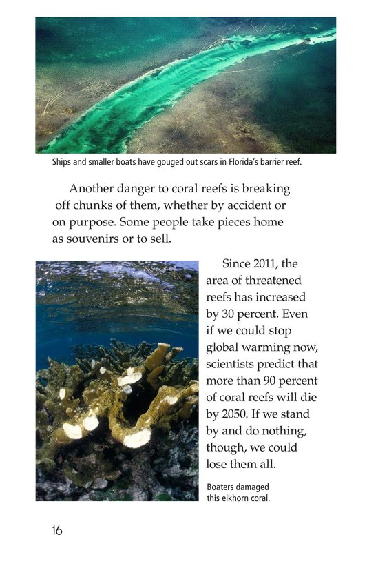 Book Preview For Coral Reefs Page 16